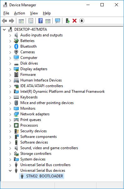 Stm32 Programming Arduino Ide
