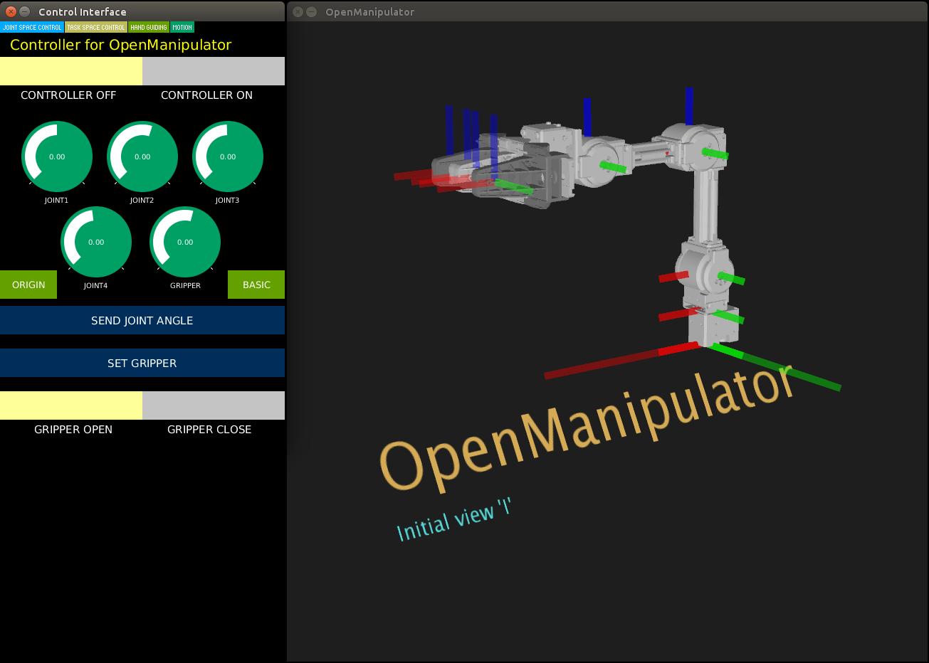 OpenMANIPULATOR-X
