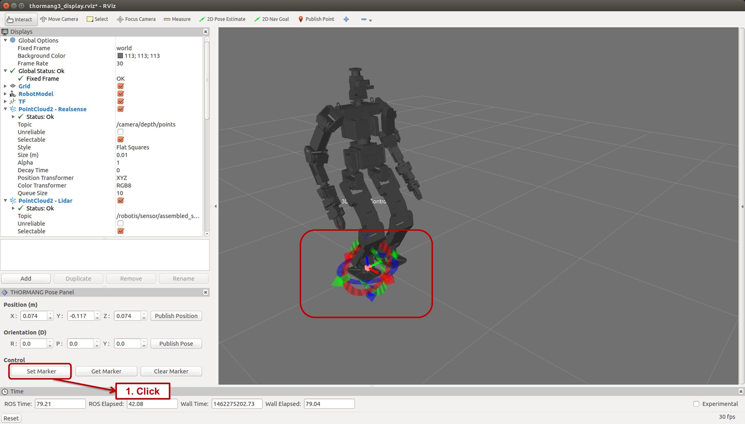 RVIZ GITHUB - Install Simulation model Rosbot2 0 for Gazebo